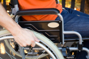 personal injury - man in wheel chair